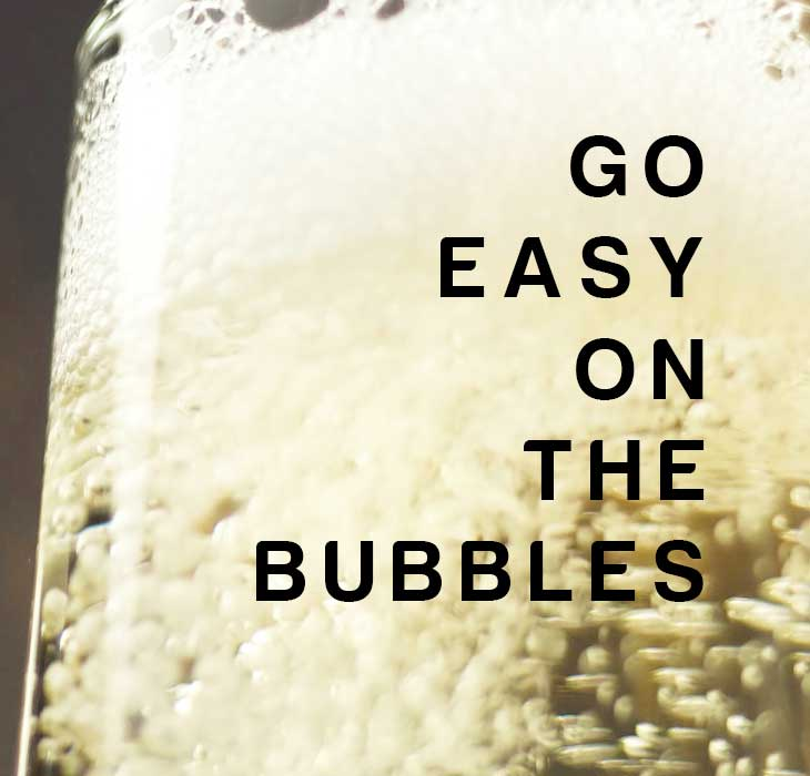 Beating Holiday Bloat: Go easy on the bubbles
