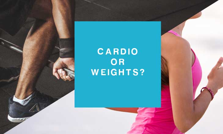 Cardio or weights: what is right for you