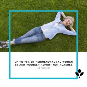 Up to 75% of perimenopausal women report hot flashes